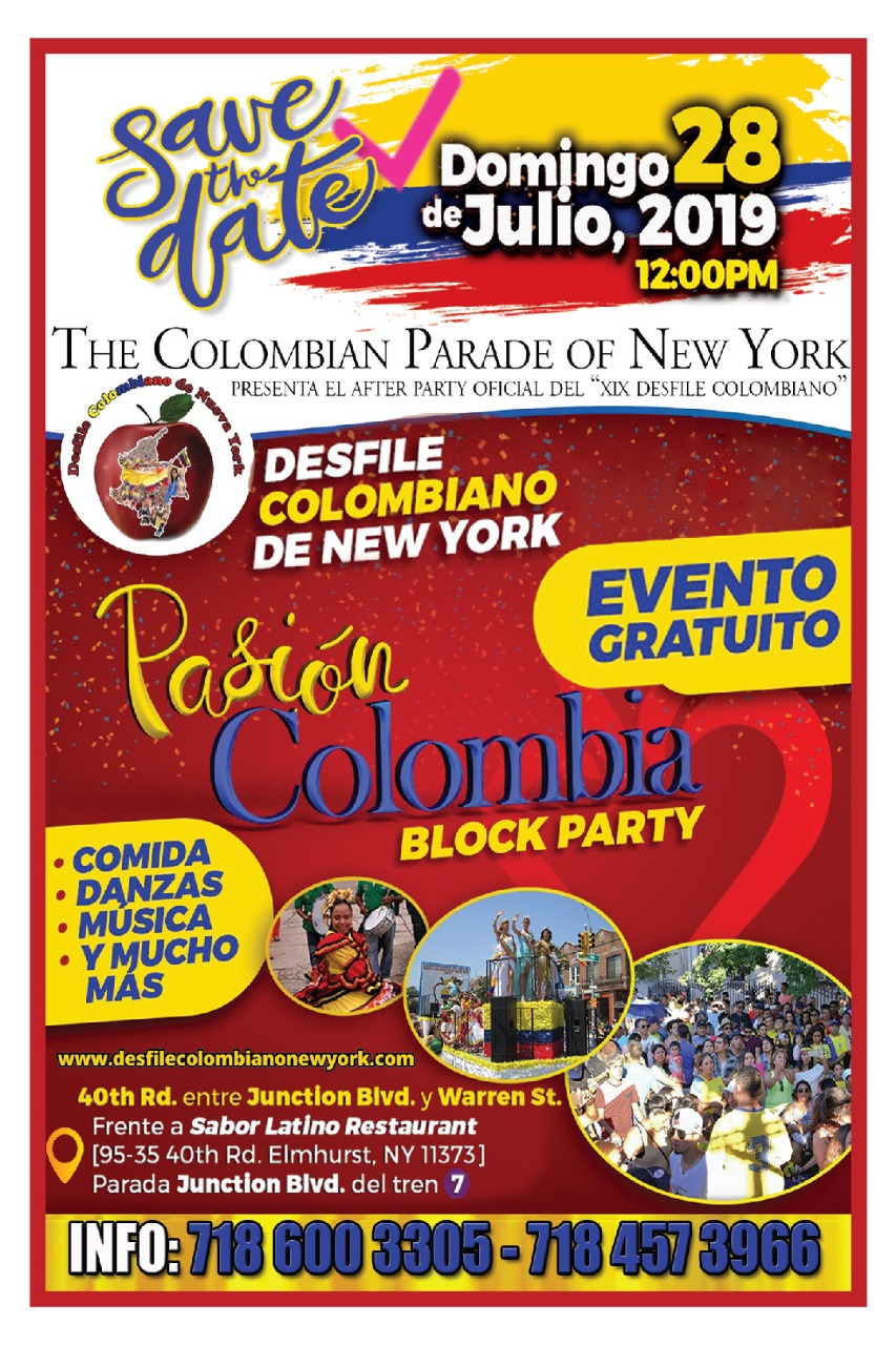 Desfile Colombiano de New York