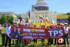06-20-2016 Ecuatorianos por TPS en Washington D.C