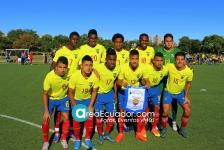 09-25-2016 Selección Ecuatoriana Sub 20 Liga Universitaria
