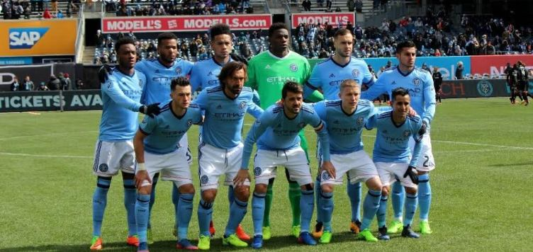New York City Football Club se enfrentó al DC United en el Yankee Stadium de la Ciudad de New York.