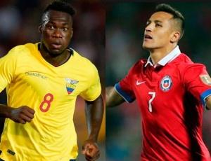 Ecuador vs. Chile en Quito por la eliminatoria a Rusia 2018