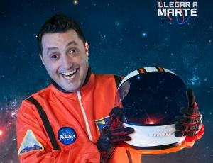 Andrés López quiere 'llegar a Marte'
