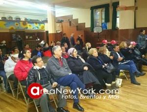 Debate político de la comunidad ecuatoriana con los candidatos a la asamblea